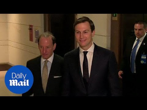 Jared Kushner arrives for day two of senate committee questioning - Daily Mail