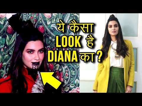 Diana Penty Makeover As A Maori At New Zealand Tou
