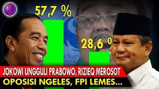 Video Survei LSI: Jokowi Ungguli Prabowo, Rizi3q Mero$ot! Opo$isi Ngele$, FPI Leme$ MP3, 3GP, MP4, WEBM, AVI, FLV November 2018