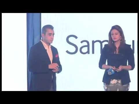 Watch Huma Qureshi launch the Z1 - Samsung's first Tizen powered smartphone!