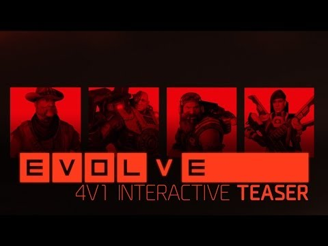 Evolve: 4v1 HD Teaser Trailer