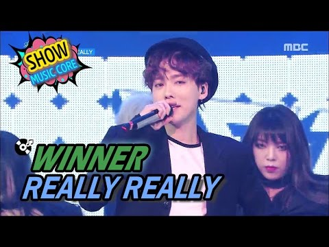 Video [HOT] WINNER(위너) - REALLY REALLY, Show Music core 20170415 download in MP3, 3GP, MP4, WEBM, AVI, FLV January 2017