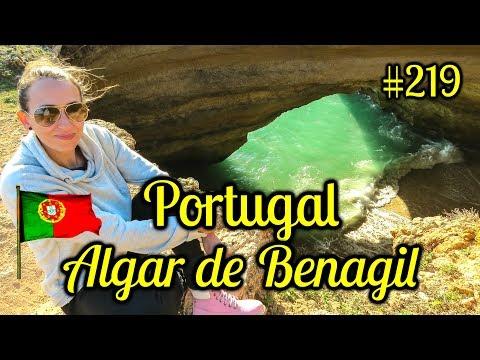 Algar de Benagil, Lagoa - Algarve | O segredo escondido do Algarve