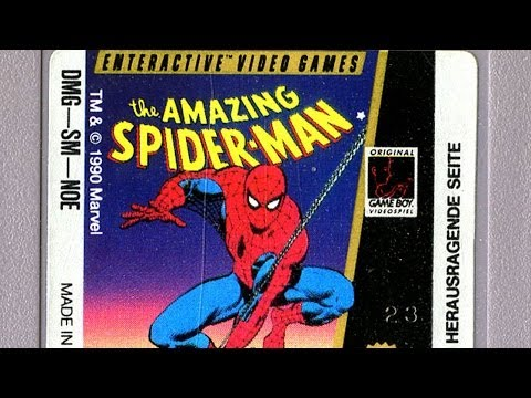 the amazing spider man game boy advance