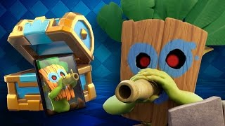 NOVO GOBLIN SNIPER - Comercial Goblin com Dardo Legendado Clash Royale Video