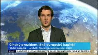 Čínský prezident láká evropský kapitál