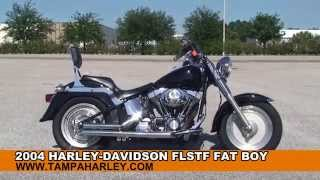 8. Used 2004 Harley Davidson FatBoy Motorcycles for sale in Texas Florida