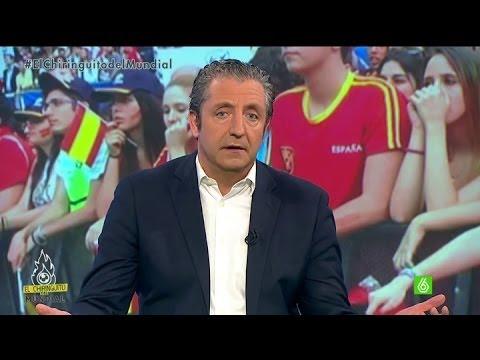 España - Pedrerol empezó de esta manera contundente su crítica por la dura eliminación de España, pero dejó claro lo siguiente: