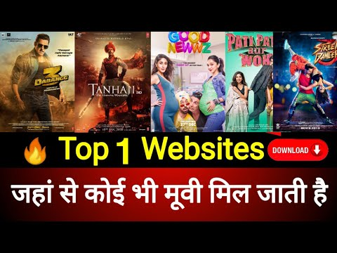 Top 1 Best Website to Download New Movies in HD quality Size 200MB Movies, 500MB Movies