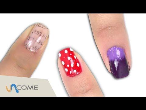 nail art semplice e veloce!