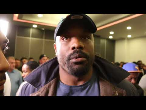 WHY NOT? - DERECK CHISORA OFFERS SPARRING TO DILLIAN WHYTE FOR FREE! (w/ SPENCER FEARON) (видео)