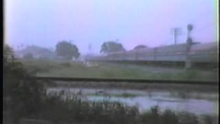 Auburndale (FL) United States  City new picture : Amtrak, Auburndale, FL. Trains Combine During Storm, Railroad Time Capsule 1983