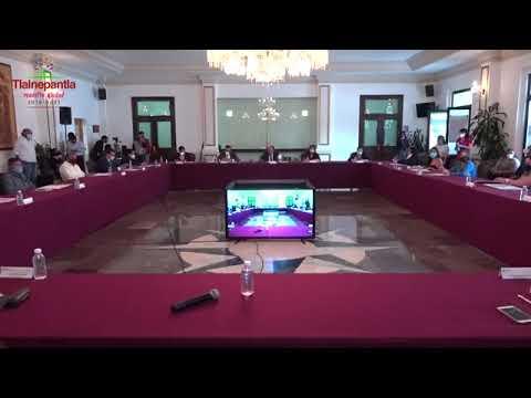Cabildo H. Ayuntamiento de Tlalnepantla de Baz 22 julio 2020