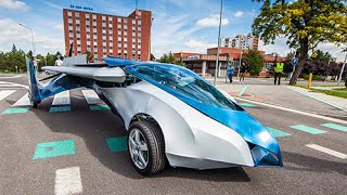Aeromobil Roadable aircraft 2.5 - YouTube