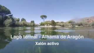 Alhama de Aragon Spain  city photos : Lago termal Alhama de Aragón | Xalón Activo