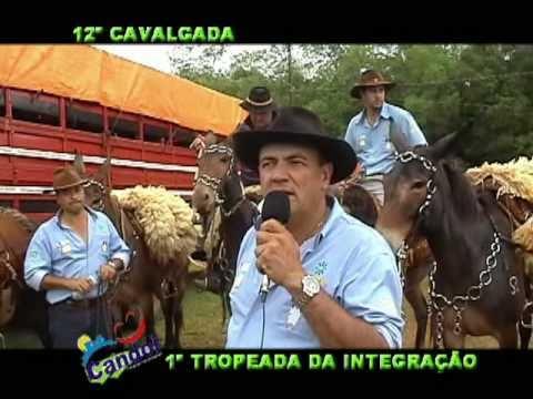 12ª CAVALGADA e 1ª TROPEADA EM CANDÓI-PR 2010