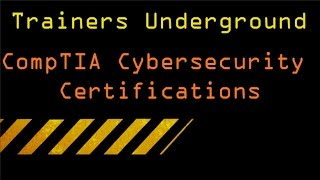 CompTIA Certifications for Cyber Security