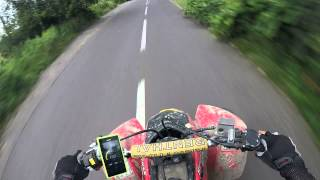 9. TRX 400ex'07 TOP SPEED Gps