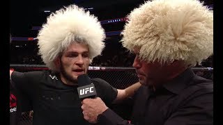 Video UFC 219: Khabib Nurmagomedov - Octagon Interview MP3, 3GP, MP4, WEBM, AVI, FLV Februari 2019