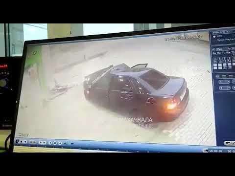 Жесткая авария в Махачкале