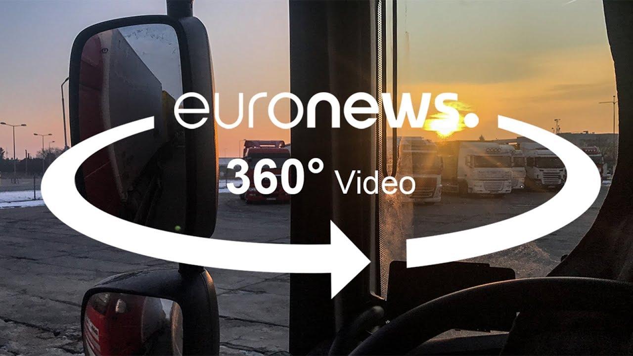 Η ιστορία του Ρουσλάν: Τέσσερις χιλιάδες χιλιόμετρα σε εννέα ημέρες, μέσα στο φορτηγό του