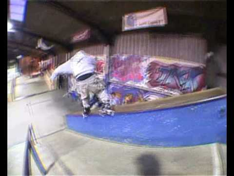 Adrian Wallace, Ben Shelbourne, Lee Devereux and Keir Lindsay  @ The Boneyard skatepark - Chester