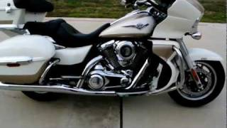 3. For Sale! 2012 Kawasaki Vulcan 1700 Voyager ABS Pearl Alpine White / Pearl Luster Beige