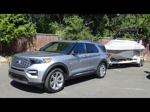 2020 Ford Explorer First Drive, Hybrid AWD In Oregon And Washington