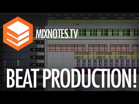 How to Produce Beats: Layering Drums  / Drum Programming in Pro Tools 10