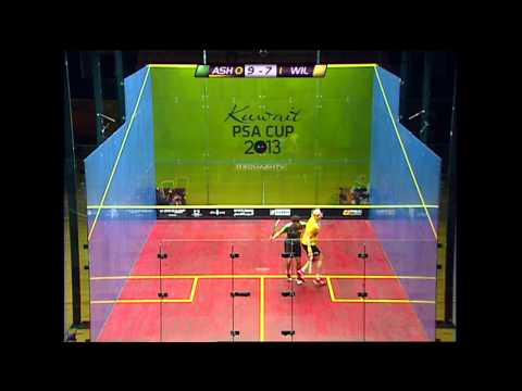Squash : Kuwait PSA Cup 2013 Final Roundup Ramy Ashour v James Willstrop