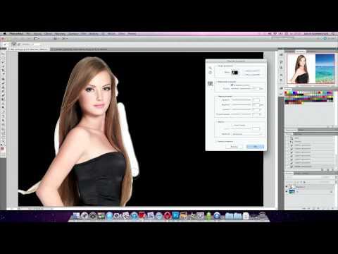 Szparowanie skomplikowanych obiektów w Adobe Photoshop CS5 - poradnik wideo