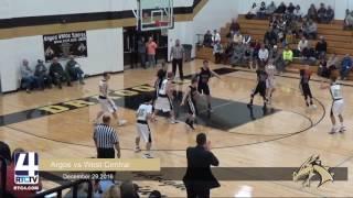 Argos Boys Basketball vs. West Central