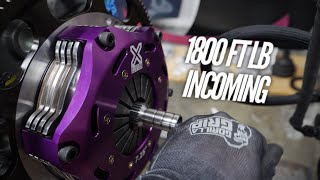 4 Plate Clutch is on the 4 Rotor! Crunch Time for SEMA by Rob Dahm