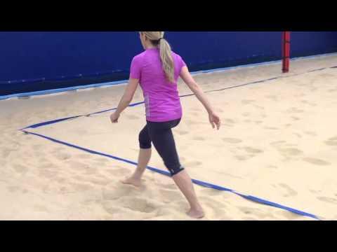 Allenamento funzionale sulla sabbia