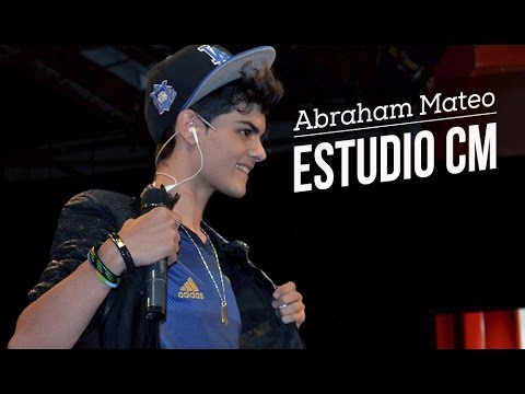 Abraham Mateo video Entrevista - Estudio CM - 2014