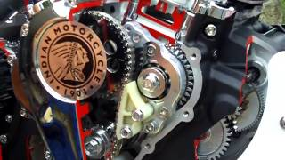 10. New Indian Motorcycle engine