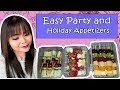 Finger Food Recipes | Easy Party and Holiday Appetizers