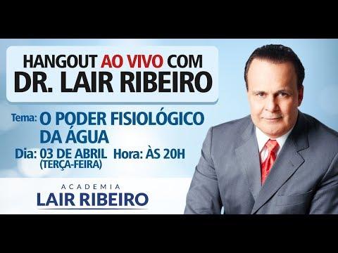 Mensagens lindas - Dr. Lair Ribeiro - O poder fisiológico da água (Dia 03/04/2018) AO VIVO