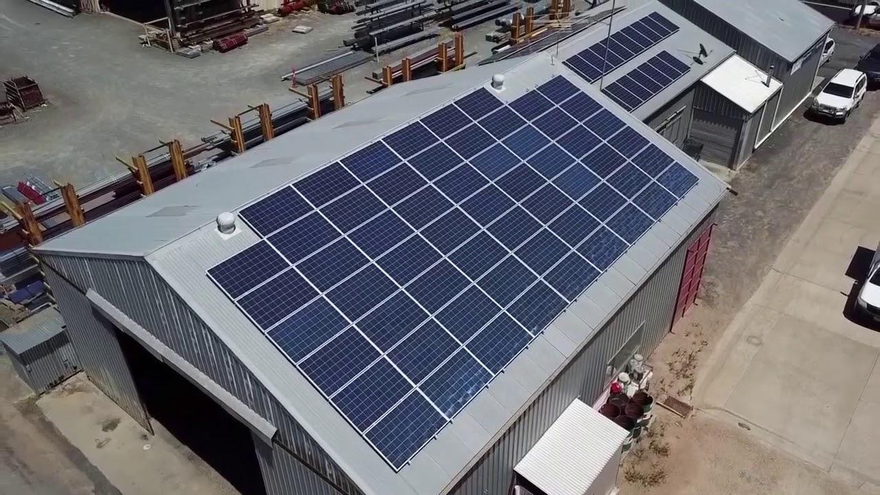 26.6kW DieselEquip Solar Energy Installation