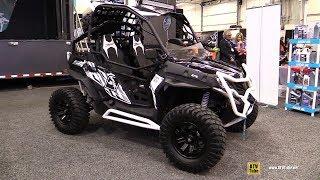 8. 2018 Cfmoto Z-Force 800 Side by Side ATV - Walkaround - 2017 Toronto Snowmobile ATV Show
