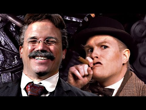 Theodore Roosevelt vs Winston Churchill. Epic Rap Battles of History (видео)