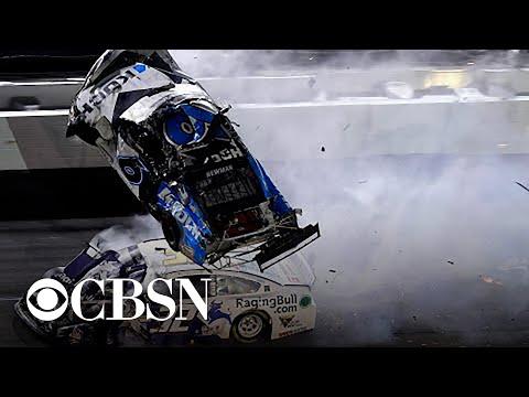 Video - Καρέ καρέ το σοκαριστικό ατύχημα στο Daytona 500 - Σε σοβαρή κατάσταση οδηγός (Video)