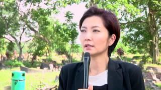 Huang Biren films dangerous car scene for Tiger Mum