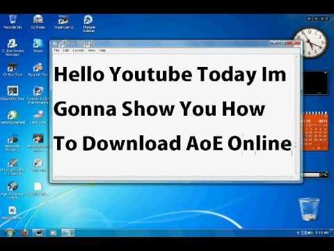 comment installer aoe online