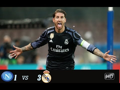 Napoli vs  Real Madrid ( 1 - 3 ) All Goals and Highlights Champions League