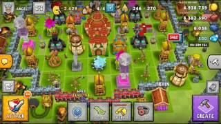 Me showing my base no gameplay.
