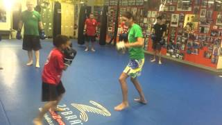 Juniors Comb 1 Boxing