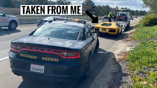 Police Pull me over and IMPOUND my Lamborghini Aventador... by TJ Hunt