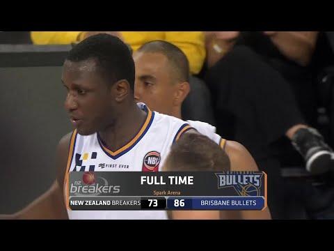New Zealand Breakers vs. Brisbane Bullets - Game Highlights
