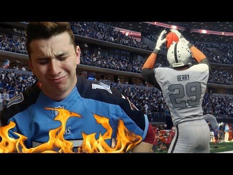 IF I LOSE I HAVE TO BURN MY FAVORITE TEAMS JERSEY! Madden 18 Pain&Gain 4 (видео)